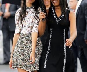 malia obama, obama, and sasha obama image