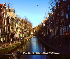 amsterdam, moments, and red light district image