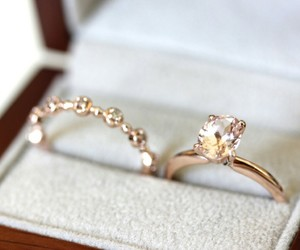 jewelry, ring, and rings image
