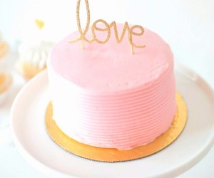 cake, background, and pastel image