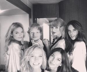 Taylor Swift, ed sheeran, and Victoria's Secret image