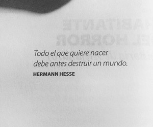 frases, herman hesse, and libros image