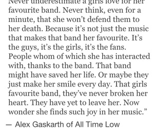 alex gaskarth, all time low, and alone image