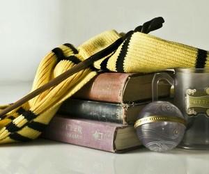 hufflepuff, harry potter, and hogwarts image
