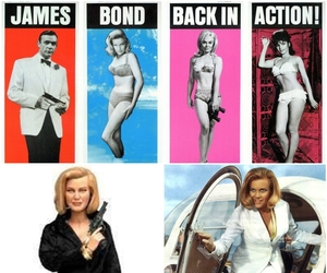 honor blackman, goldfinger, and pussy galore image
