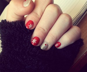 christmas, little, and nails image