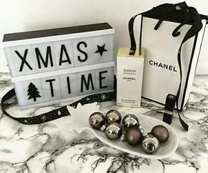 christmas, winter, and chanel image