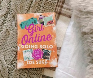 book, zoella, and girl online going solo image