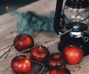apples, christmas, and atmosphere image