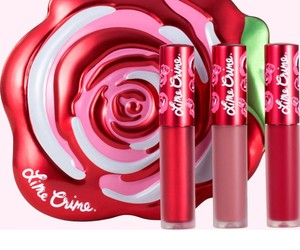 lipstick, lime crime, and red velvetine set of 3 image
