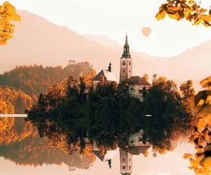 fall, slovenia, and travel image