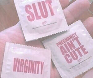 pink, condom, and grunge image