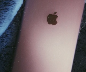 gold, iphone, and pink image