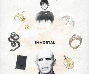 harry potter, Immortal, and voldemort image