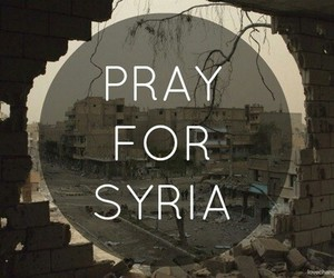 pray and aleppo image