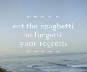 quote, spaghetti, and funny image