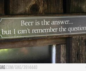 funny and beer image