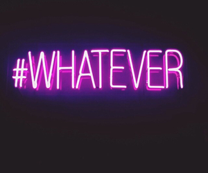 whatever, light, and neon image