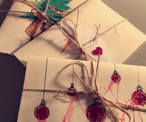 cards, christmas, and craft image