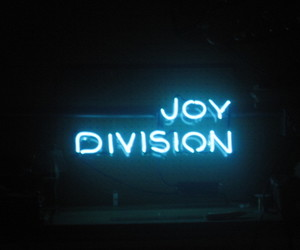 light, joy division, and blue image
