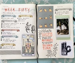 planner, study inspiration, and studyspo image