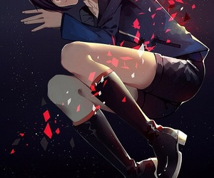 touka, tokyo ghoul, and anime image