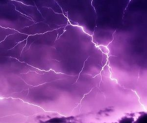 purple, background, and lightning image