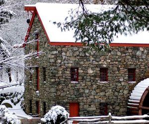 christmas, seasons, and lake house image
