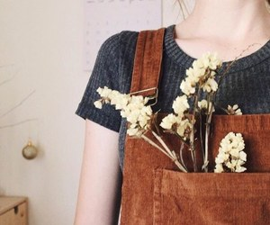 flowers, hipster, and girly things image
