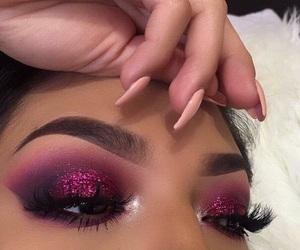beautiful, eyebrows, and eyeliner image