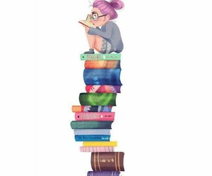 books, colorful, and learning image