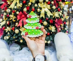 christmas, Cookies, and tree image