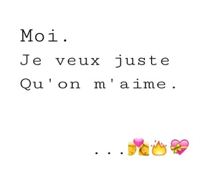 amour, je t'aime, and besoin image
