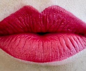lipstick, pink, and mouths image