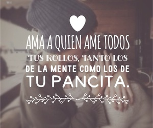amor, frases, and novios image