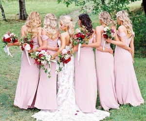 bride, event, and bridesmaids image
