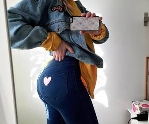 ass, fashion, and heart image