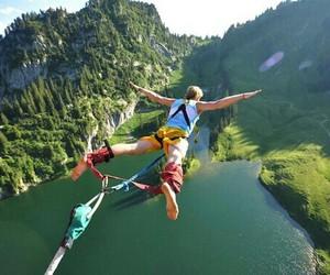 nature, jump, and life image