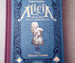 Benjamin Lacombe, blue, and book image