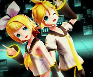 anime, anime girl, and blond image