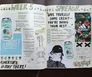 art, creative, and journal image