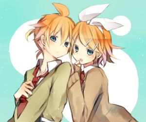 blond, kawaii, and vocaloid image