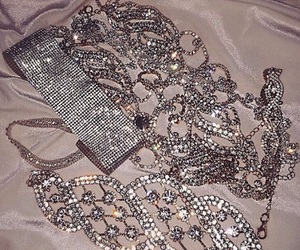 diamond, jewelry, and choker image