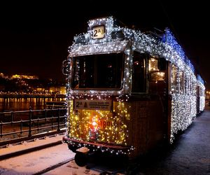 christmas, budapest, and hungary image