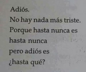 adios, hasta pronto, and amor image
