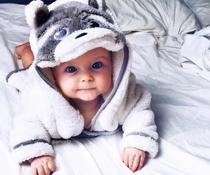 adorable, baby, and bedroom image