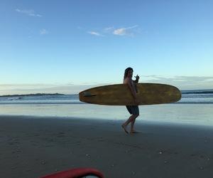 beach, costa rica, and ocean image