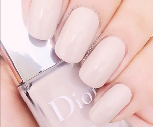 nails, dior, and beauty image