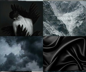 rhysand, a court of mist and fury, and rhysand aesthetic image