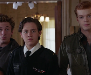 shameless, carl gallagher, and ian gallagher image